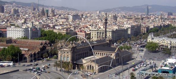 Auto Karta Barcelona.Beograd Barselona Kilometraza Auto Karta Spanija Barselona
