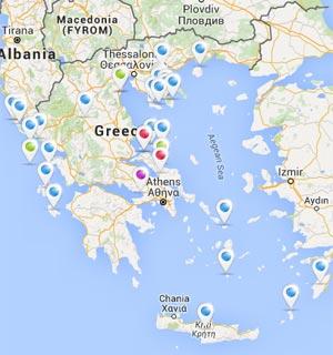 Karta Evrope Mapa Grcke Leto 2020 2020