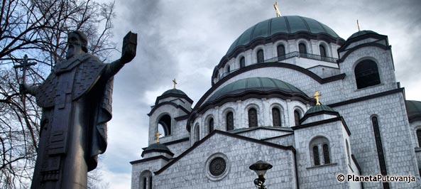 hram svetog save mapa Hram Svetog Save   Beograd   Srbija   Letovanje 2018, putovanja  hram svetog save mapa