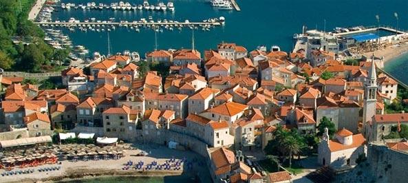 Mapa Budva Mapa Budve Crna Gora Mapa Budva Mapa Grada
